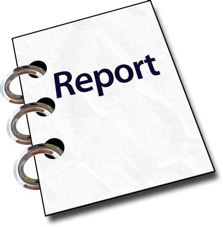 Writing training evaluation report
